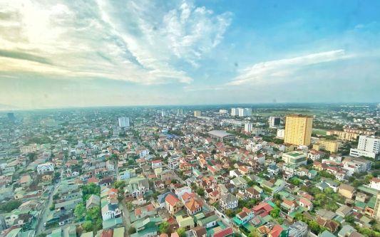 Sống đẳng cấp với Sky view từ Chung cư cao nhất thành Vinh